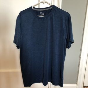 Old Navy Active Go-Dry Athletic Blue Shirt